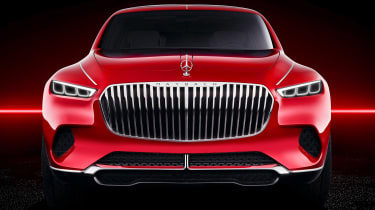 Vision Mercedes-Maybach SUV - studio full front