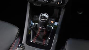 Skoda Octavia vRS 230 gearstick