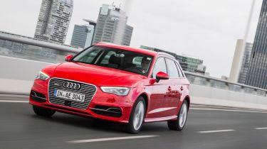 Audi A3 e-tron Sportback tracking