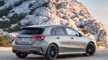New Mercedes A-Class - rear static