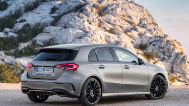 New Mercedes A-Class - rear static