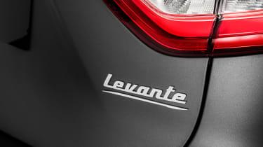 Maserati Levante Trofeo - Levante badge