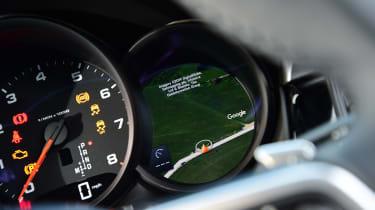 Porsche Macan - navigation dial