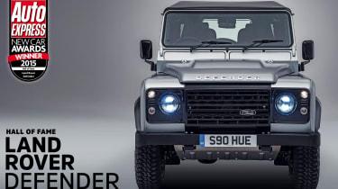Land Rover Defender - awards