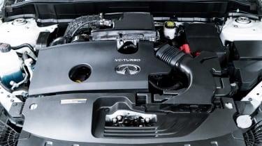 Infiniti QX50 prototype - engine