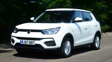 Used SsangYong Tivoli - front action