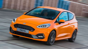 Ford Fiesta ST Performance - front tracking