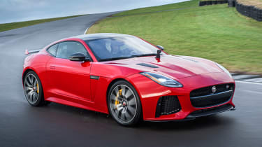 Jaguar F-Type SVR - cornering