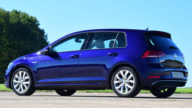 vw golf mk7 static rear
