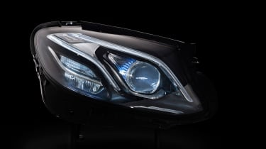 Mercedes E-Class tech - lights