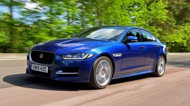Jaguar XE Long term test - front tracking 4
