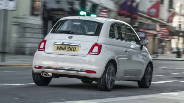 Fiat 500 rear
