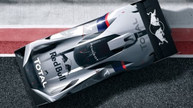 Peugeot L750 R Hybrid Vision Gran Turismo - pitlane static
