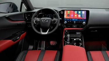 Lexus NX - cabin