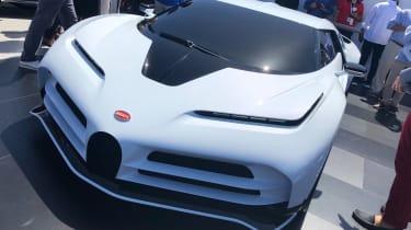 Bugatti Centodieci - front static Pebble Beach