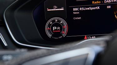 Audi A4 - dials