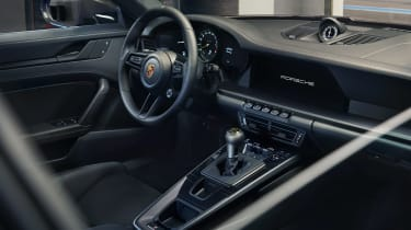 Porsche 911 GT3 Touring - dash