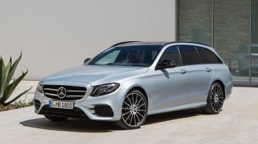 Mercedes E-Class Estate - front static