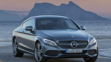 Mercedes C300 Coupe - front static