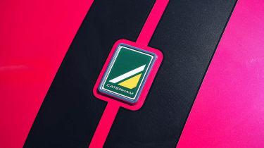 Caterham Seven 420R - badge detail