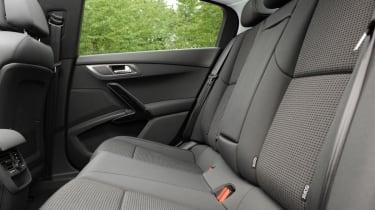 Peugeot 508 rear seats