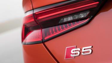 Audi S5 Sportback - S5 badge