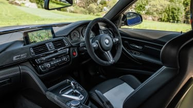 BMW M3 CS - interior