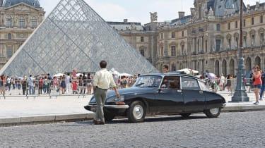 Citroen DS Louvre
