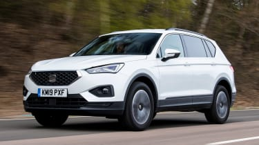 SEAT Tarraco long-termer - first report front action