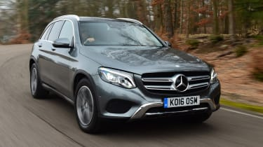 Mercedes GLC long-term fourth report - front action