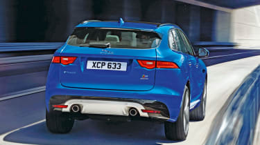 Jaguar F-Pace - rear driving