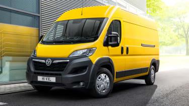 Vauxhall Movano-e - front