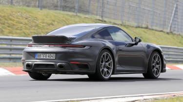 Porsche 911 Sport Classic spy - rear