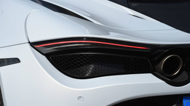 McLaren 720S - rear light