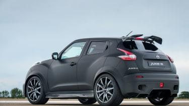 Nissan Juke-R rear 3/4