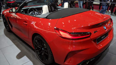 BMW Z4 - Paris - Rear 3/4