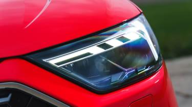 Audi A1 - front light