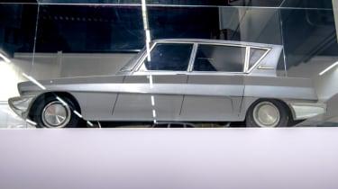 Vintage French car side