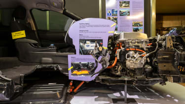 Grampian Transport Museum - Nissan Leaf motor