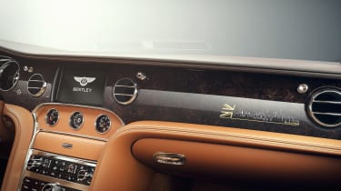 Bentley Mulsanne Extended Wheelbase Limited Edition - dashboard