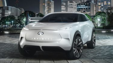 Infiniti QX Inspiration concept - front
