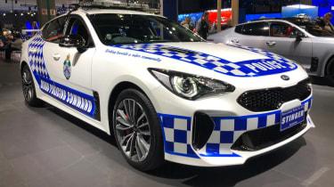 Kia Stinger Police Car - LA Motor Show