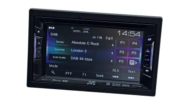 Car stereo reviews - JVC KW-V215BT