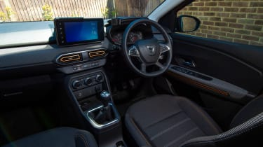 Dacia Sandero Stepway long termer - first report cabin