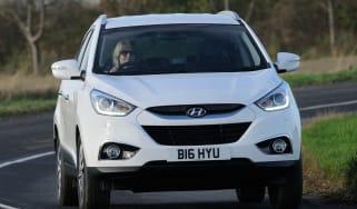 Hyundai ix35 front action