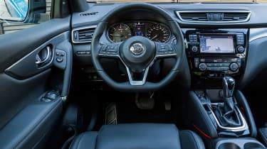 New Nissan Qashqai 2017 review dash