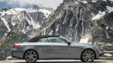 Mercedes E-Class Cabriolet - roof closed