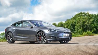 Tesla Model S 2016 facelift front static