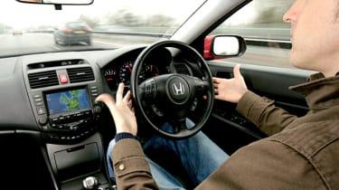 Honda Accord EX ADAS interior