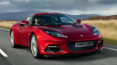 Lotus Evora GT410 - front action
